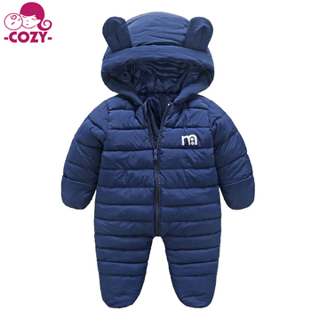 6fd48dc4e968 2017 Hot Sale Unisex Baby Bear Puffer Winter Snowsuit Girl Boy Pram ...