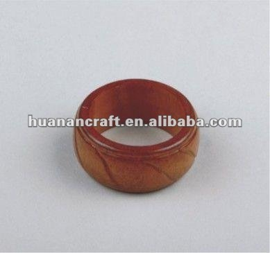 since 1993 factory wooden napkin ring table decoration restaurant high quality wedding table decoration