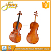 Mendini 16-Inch Natural Varnish Solid Wood Viola with Case, Bow, Rosin, Bridge and Strings