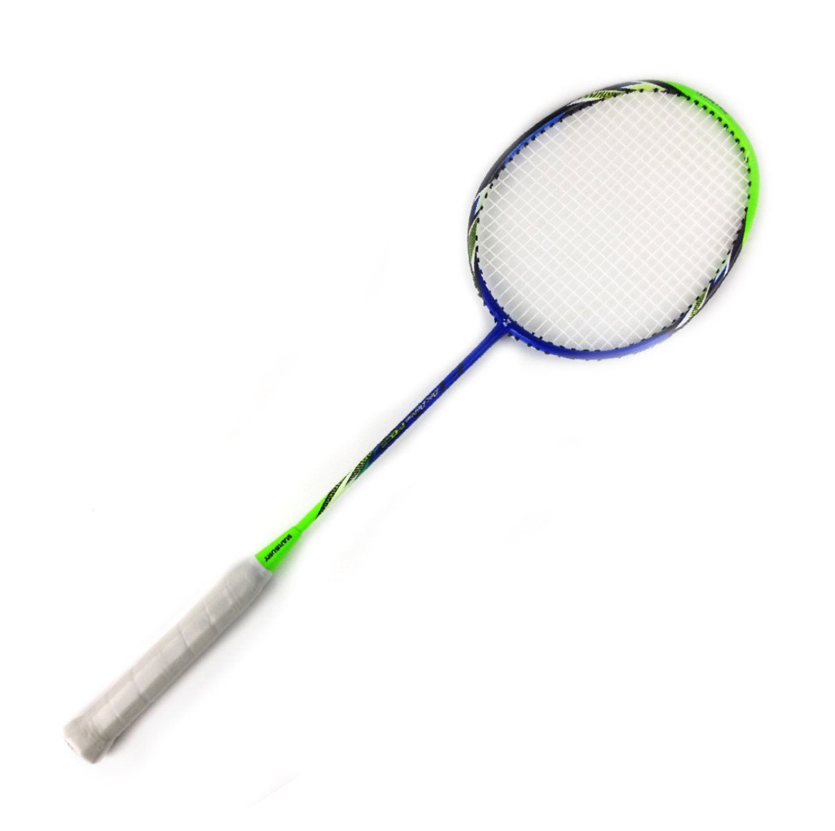 My Badminton Racket - Glorious Performance with Lightweight Micro Carbon Fiber Racket -Super Tight String and Elastic Shaft - Ergonomic Design - Universal Size to All Age - 471