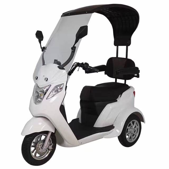 Mobility electric 3 wheel scooter with roof (J-09)