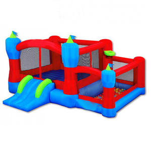 Kids outdoor inflatable toys jumping castle combo with slide