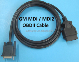 Main Testing Cable for MDI2 Multiple Diagnostic Interface OBDII OBD2 DLC Cable