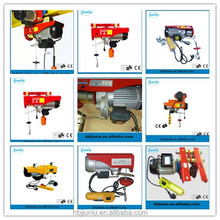 Factory provide mini electric hoist/ wire rope/wire rotary hoist frame