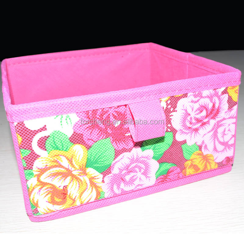 Eco-Friendly Household Fabric polyester organizer box
