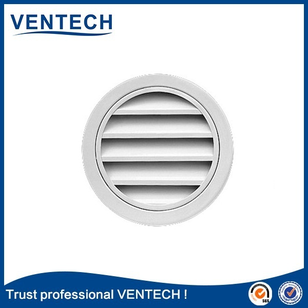 Round vent weather proof louver,round exhaust fan louvers
