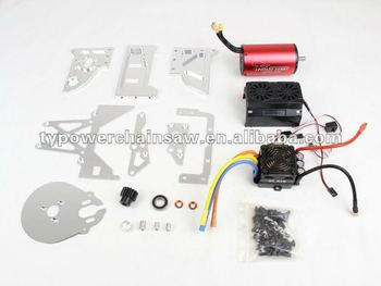 E baja converson kits oil rc car change to electric rc for Rc electric motor oil