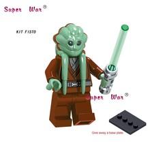 Одиночный первый заказ Rebel s Pilot Obi-Wan Kenobi Han Solo строительный блок игрушки для детей(Китай)