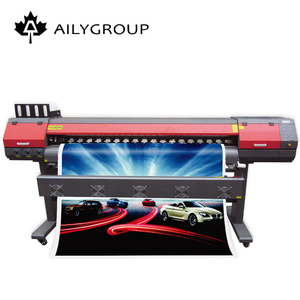 Factory price hot selling 1.8m desktop eco solvent printer with double dx5/dx7