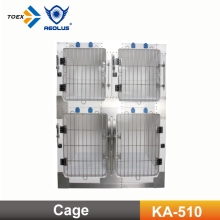 KA-510 Dog crate wholesale Fiberglass dog cage/kennel Modular Cage with Multiple Sizes