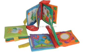 Baby Cloth Book With Crinkle Paper Inside Make Noise Buy Baby