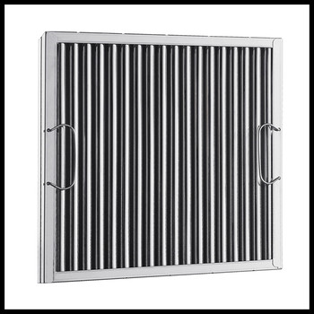 Stainless steel hood baffle grease filters buy hood for Commercial kitchen grease filters