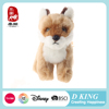 Factory Direct Supply Cute Realistic Stuffed Animal Plush Fox Toy