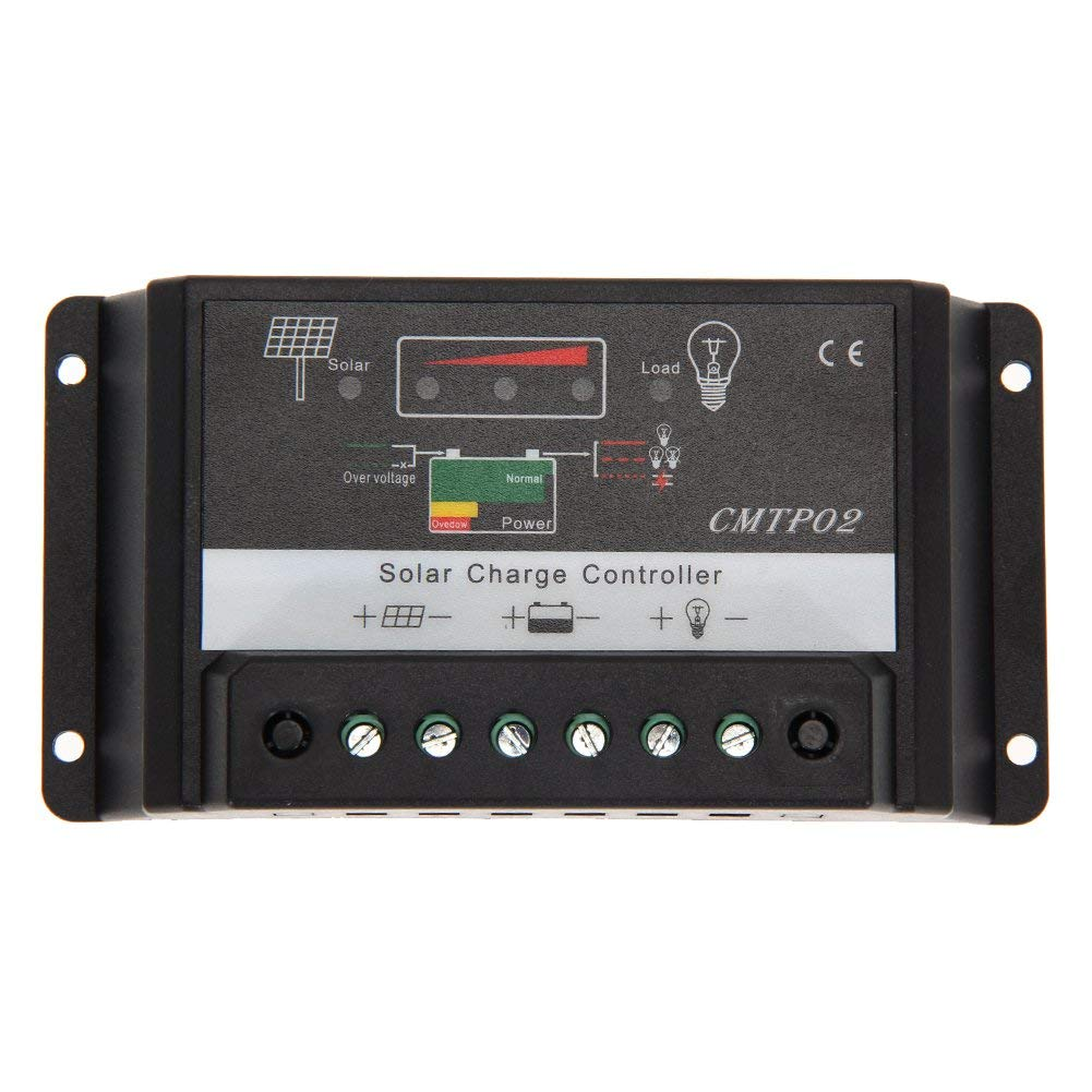 Xligo 5A 15A 20A 12V/24V MPPT Solar Panel Battery Regulator PWM Charge Controller LED Screen MFBS