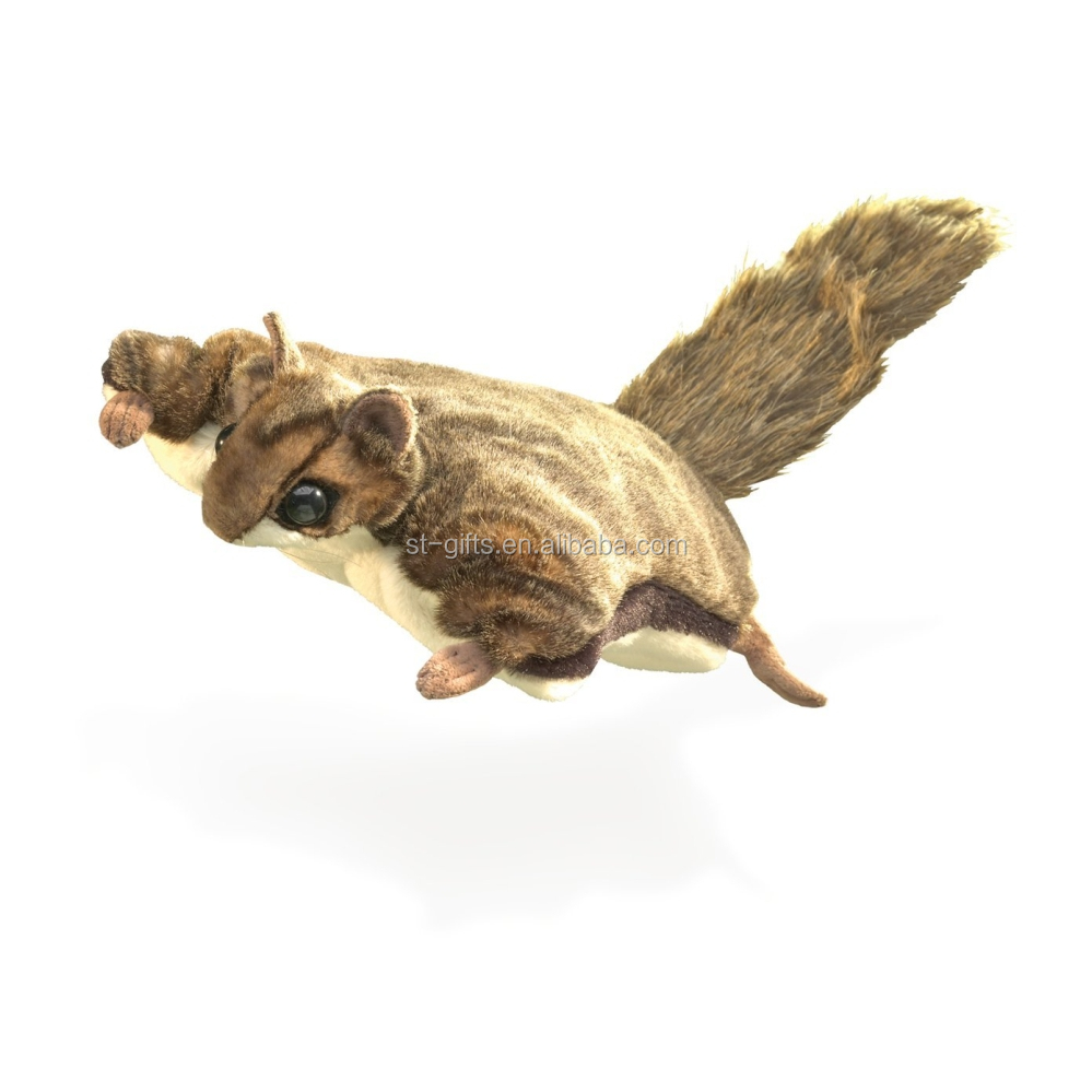 St flying squirrel toys fine and smooth plush toys forest animals toys