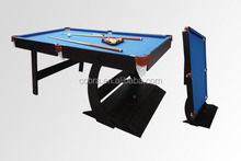 KBL-08A11 MDF folding billiard table with all accessories