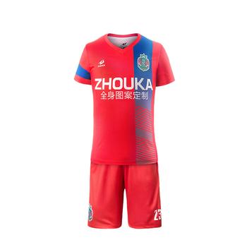 7e07d25d32f Wholesale men college football uniform set new model football shirt maker  soccer jersey Blank custom kids