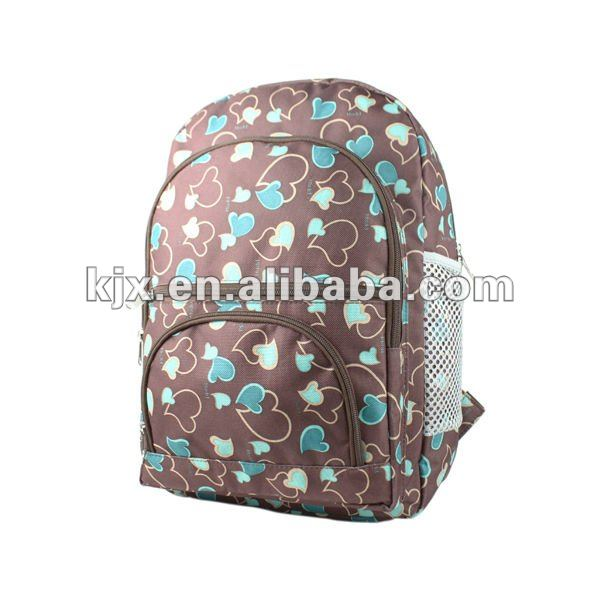 2011 fashion Printing children backpack