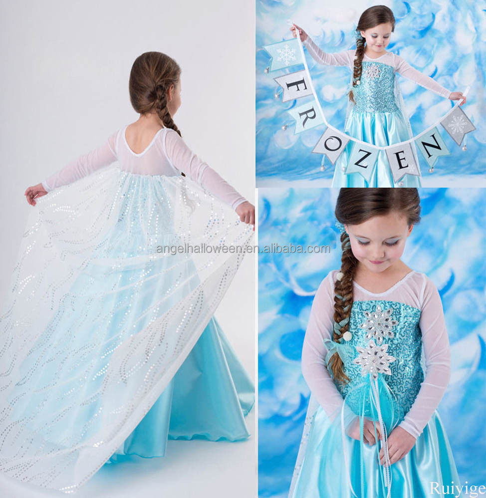 Frozen Elsa Dress Wholesale, Frozen Elsa Dress Wholesale Suppliers ...