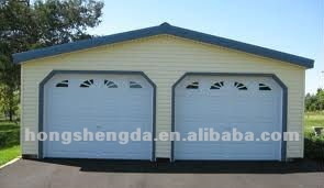 prefabricated steel structure garage/ carport