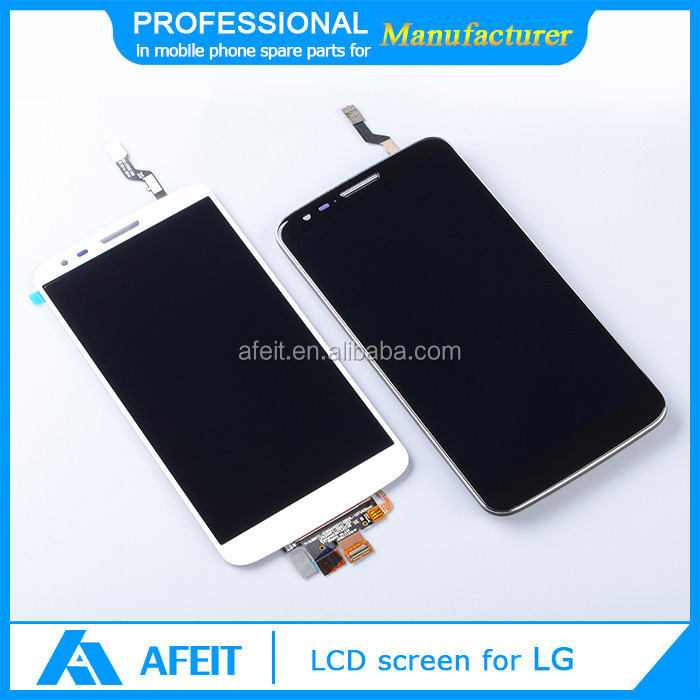 Mobile phon accessories lcd assembly for LG F320 lcd digitizer with frame with frame