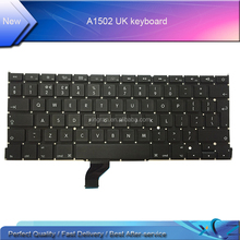 Perfect quality 13.3'' Laptop Keyboard for Apple MacBook Retina A1502 Keyboard UK Keyboard Laptop Replacement