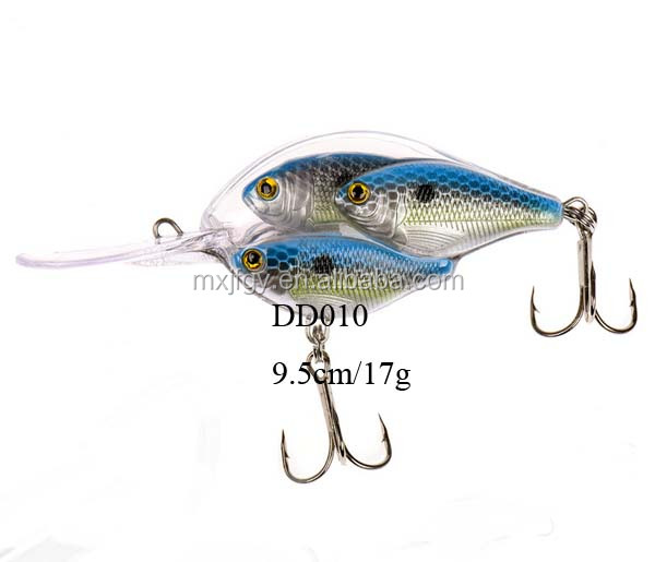 new type Threadfin Shad Baitball Crankbait bass marlin fishing lure jigging squid fishing tackle
