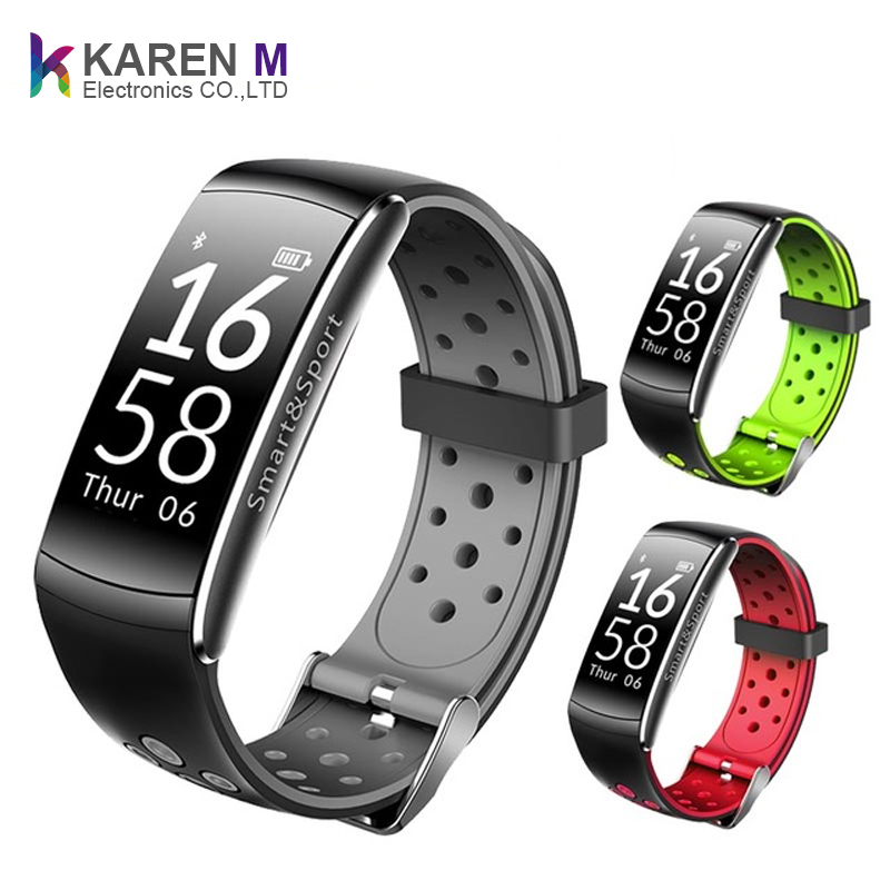 2019 Smart Wristband Heart Rate Monitor IP68 Waterproof Smart Watch Fitness Tracker Bluetooth For Android IOS women men Bracelet фото