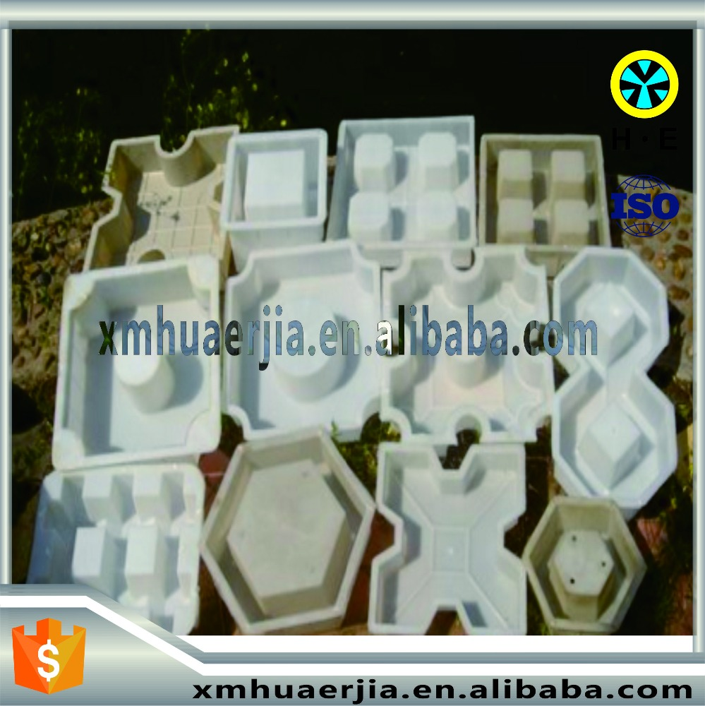 Mold design and make Steel mould Custom plastic rubber concrete paver tile molding