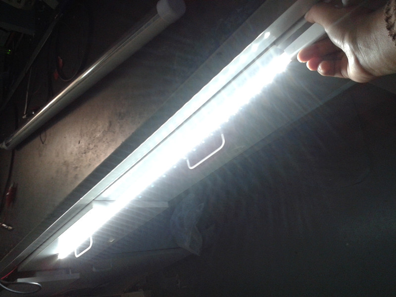 IP65 led rigid bar led refrigerator light SMD2835 one row or double rows
