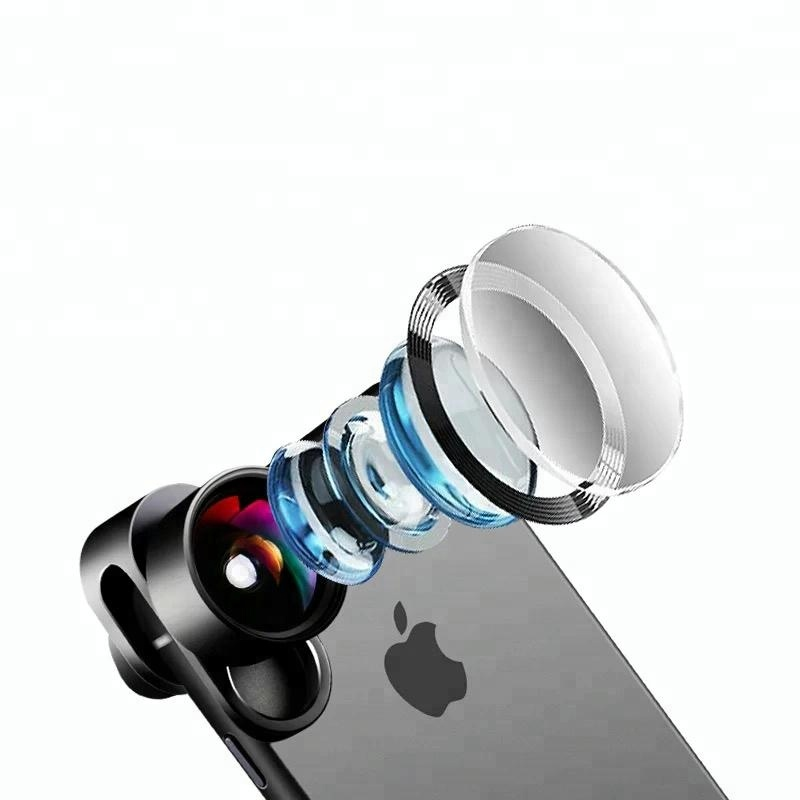 Popular products 2018 4 in 1 smartphone camera lens kit for mobile phone camera lens