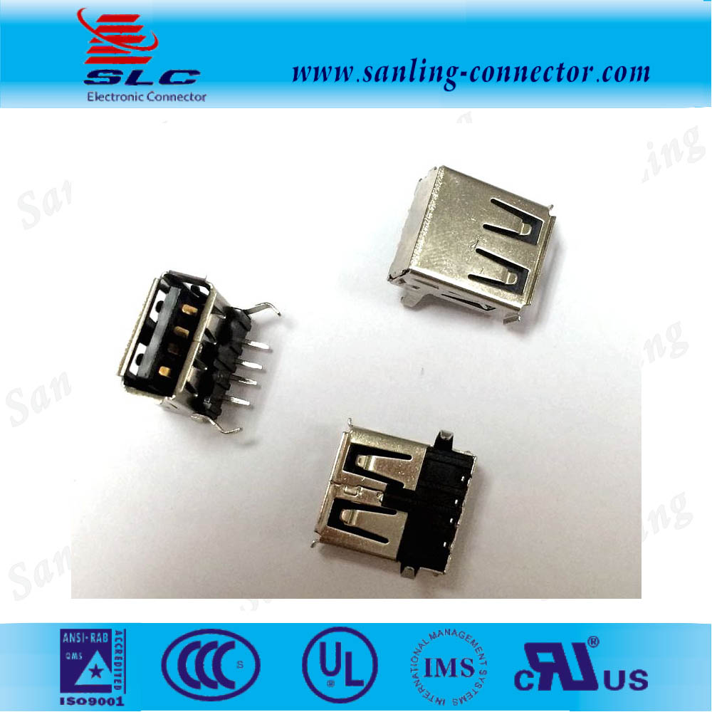 vertical micro usb 2.0 B Type 5 Pin connector