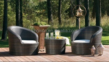 comfortable patio rattan modern design new center round table with floor chair home bar furniture