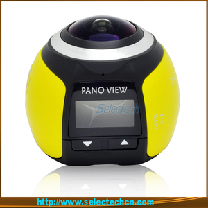 2018 Mini Wifi outdoor dome 360 degree fisheye Sport outdoor dome Panoramic Action 4K Camera