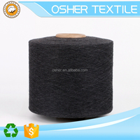 knit tt knitted twisted silk yarn/thread soft solid tape wool and blend polyester knitting yarn