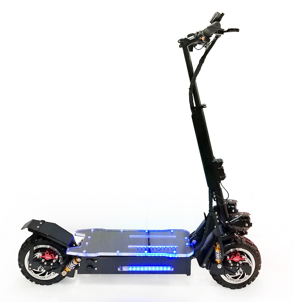 High Speed Off Road Foldable Sale Big Wheel Kick Electric Scooter Flj For Adults