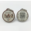 direct buy China QR code animal tracking pet dog tags NTAG 213 rfid epoxy nfc tag waterproof