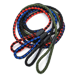 Pet twin rope tow, two head braid braid, PP round rope