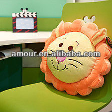 stuffed leo toy pillow cute cartoon lion soft cushion best winter gifts for girls promotional birthday toys
