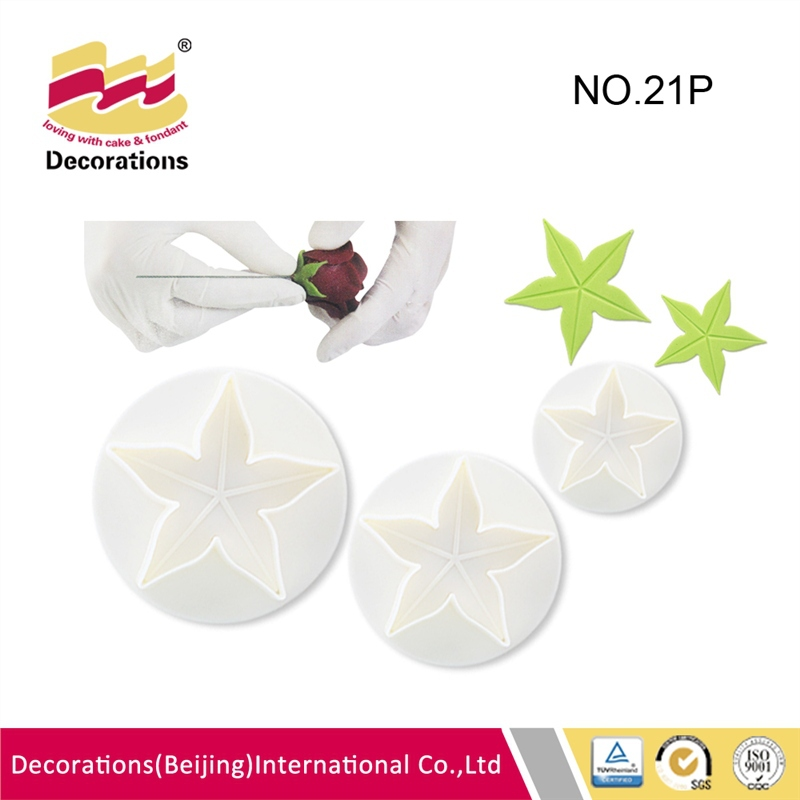 Exquisite flower fondant plunger cutter