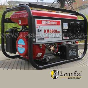 High Quality 6.5hp Gasoline Fuel King Max Power Generators (KM5500DX)