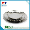 3 Piece Stainless steel fruit plate, fruit tray, hammer surface polish for Table