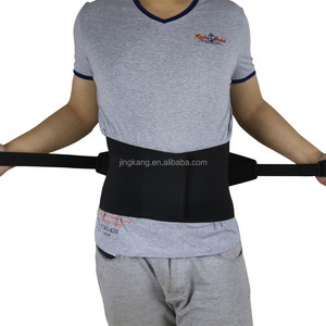 High quality steel stays padded Waist protection belt Work lumbar belts with shoulder straps