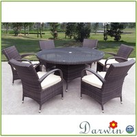Garden Rattan Wicker Dining Tables And Chair Furniture Kitchen Table Chairs