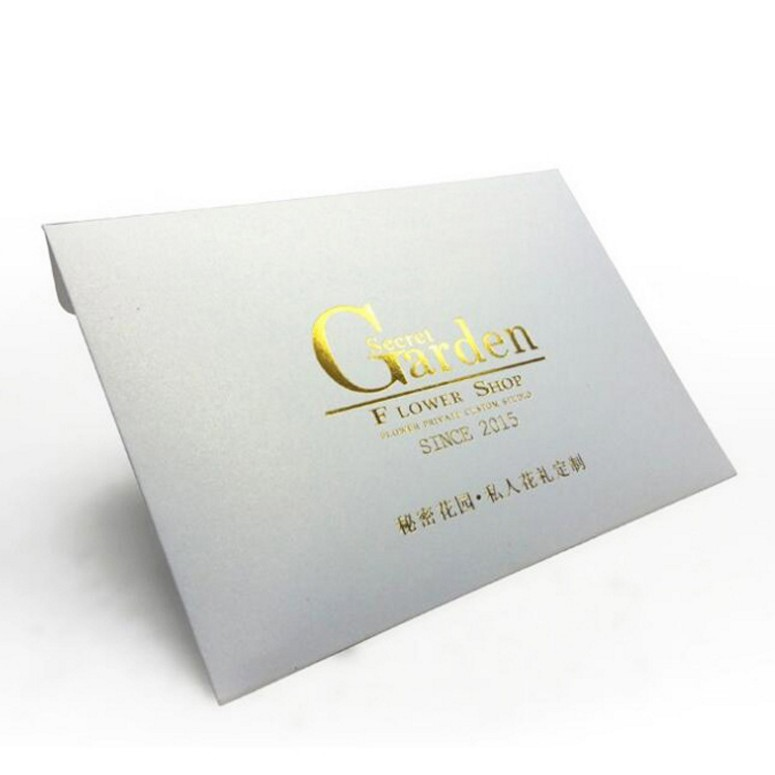 Fancy design  envelopes with custom elegant cards hot stample finishing for the best price