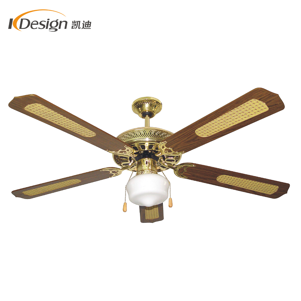 Hot Royal Gold Hall Fan Ceiling