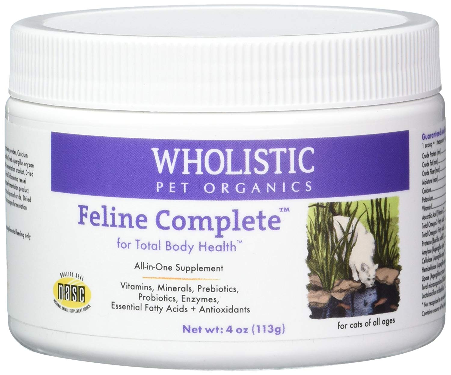 Wholistic Pet Organics Feline Complete Multivitamin