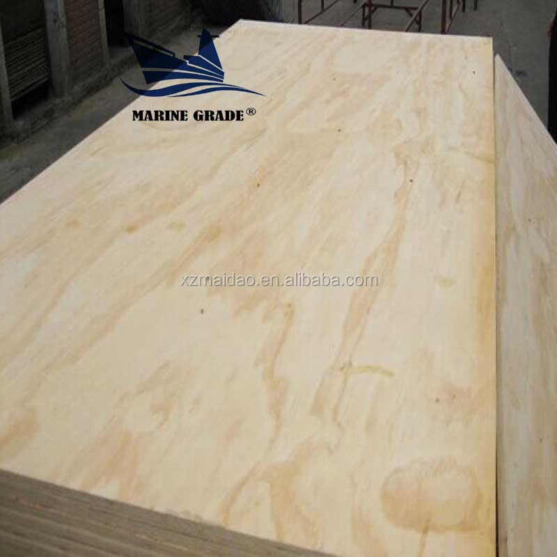 18mm the cheapest pine marine plywood for construction bs 1088