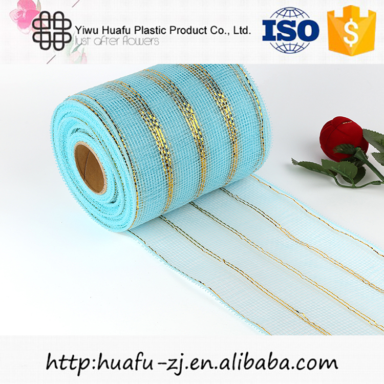 Hot sale new arrival different style flower wrapping mesh