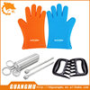 Silicone Gloves heat protective cooking gloves,barbecue tools